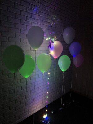 Набор шаров со светодиодом «Ночничок» 🌃