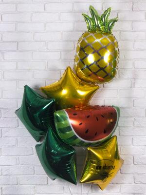 Набор воздушных шаров «Фруктовый бум» 🍉🍍