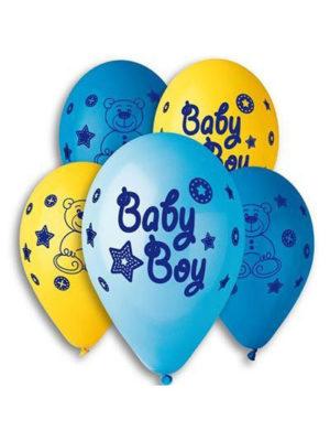 Где заказать шары на встречу новорожденного