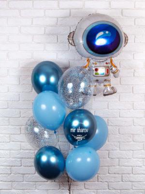Набор воздушных шариков «Гагарин» 👨🚀🚀