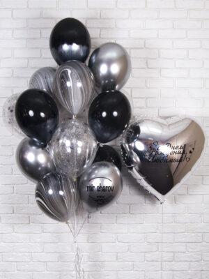 Набор шариков «Безумная Любовь»🖤