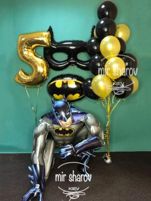 """Большой набор воздушных шаров """"Бэтмен""""🦇"""