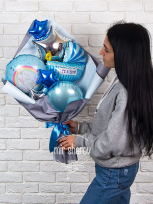 Букет из шаров «It's a boy»👶