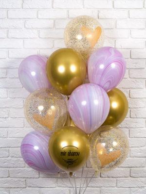 Набор воздушных шаров «Очаровашка»💕