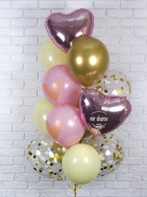Набор воздушных шариков «Помпадур»💋