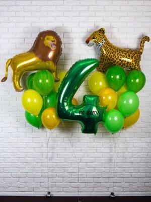 Набор шариков « Король Лев »🦁🐾