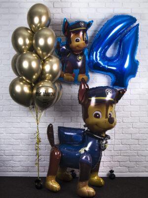 Набор шаров «День рождение с Чейзом»🐕