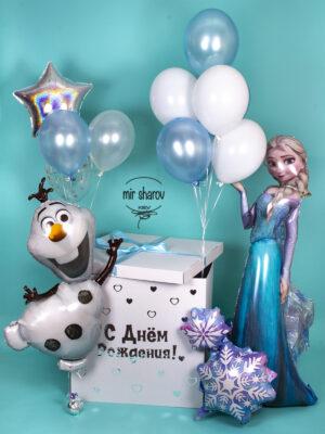 Закажите сюрприз - коробку с шарами