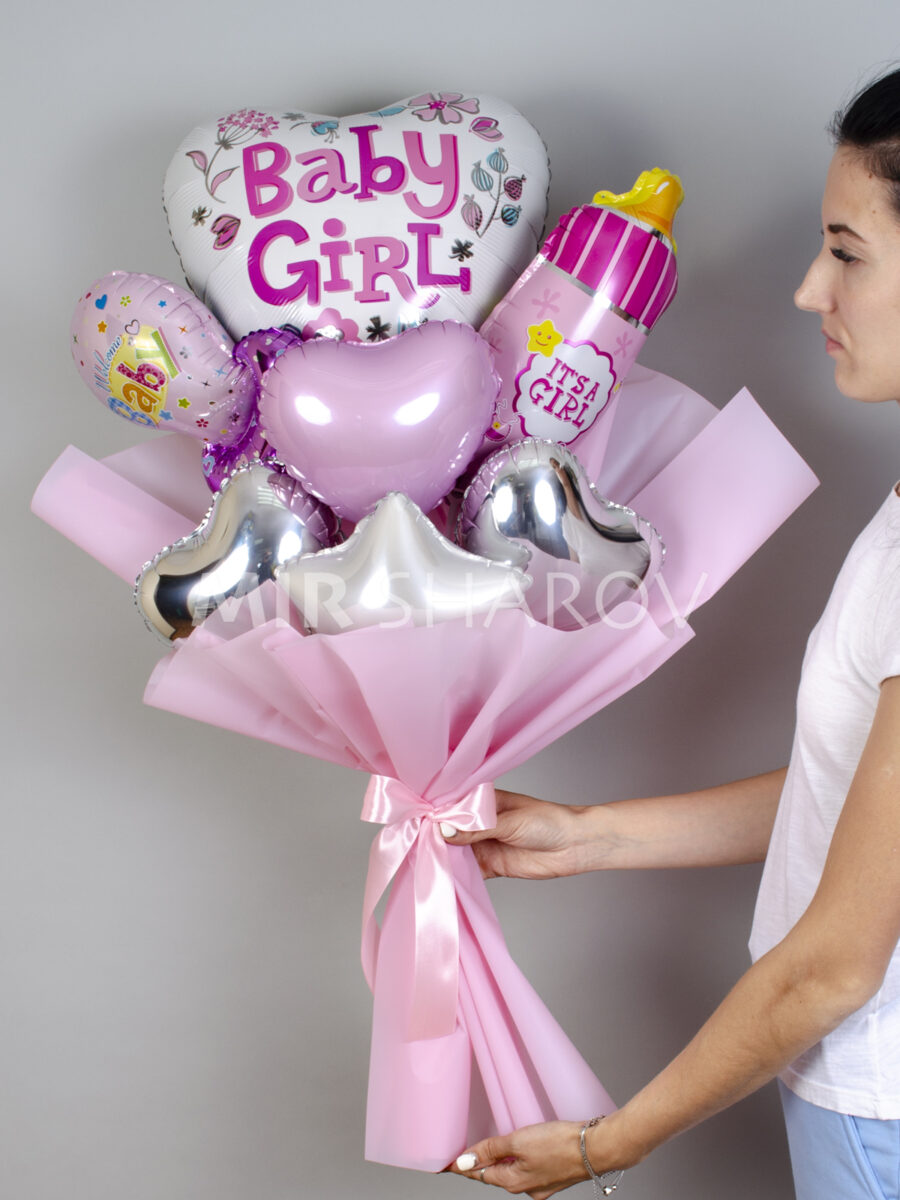Букет из воздушных шаров«Для девочки»