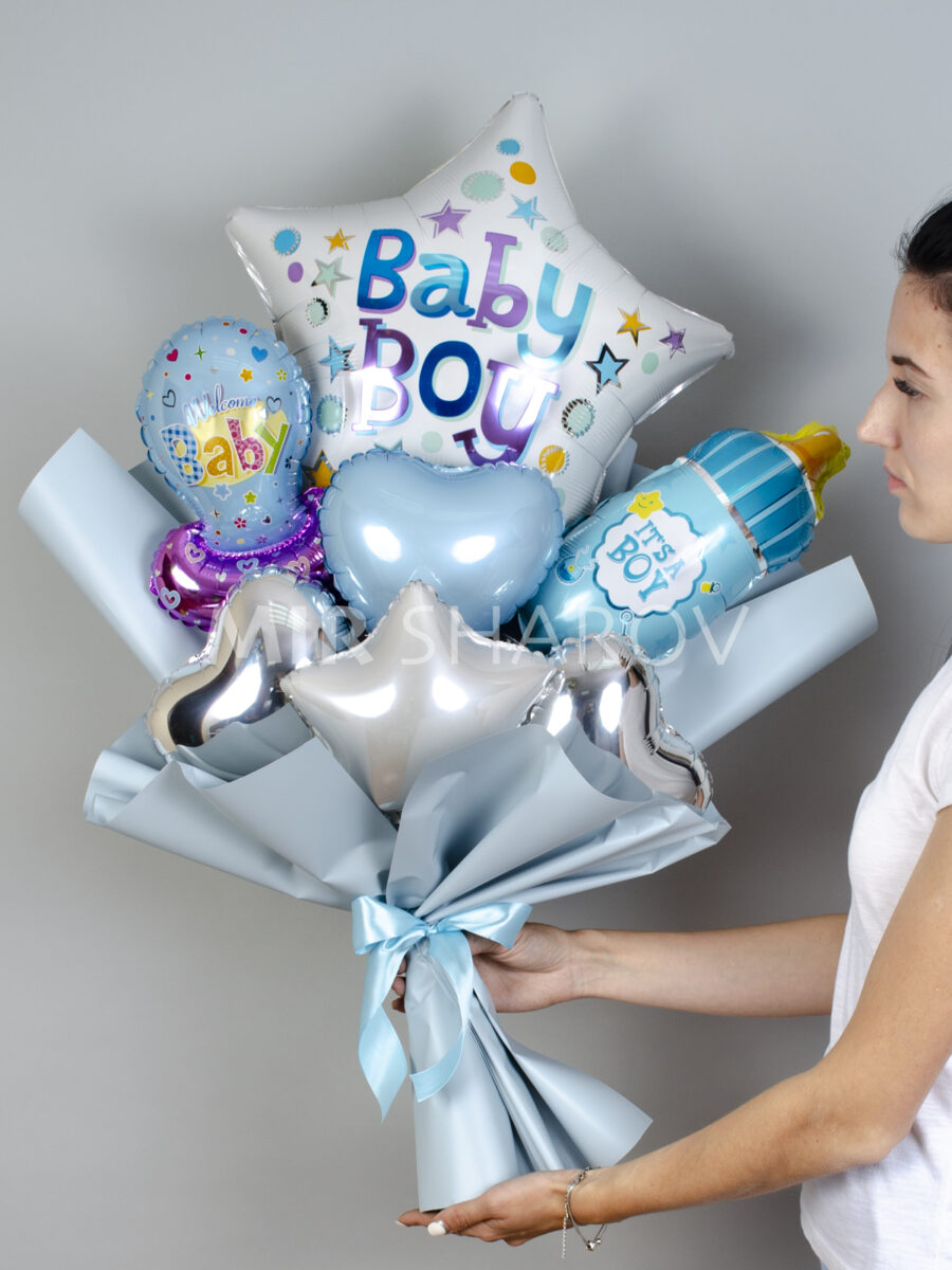 Букет из шаров«Для мальчика»